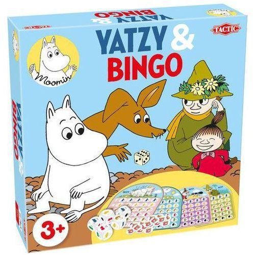 Muminki. Gry Yatzy & Bingo
