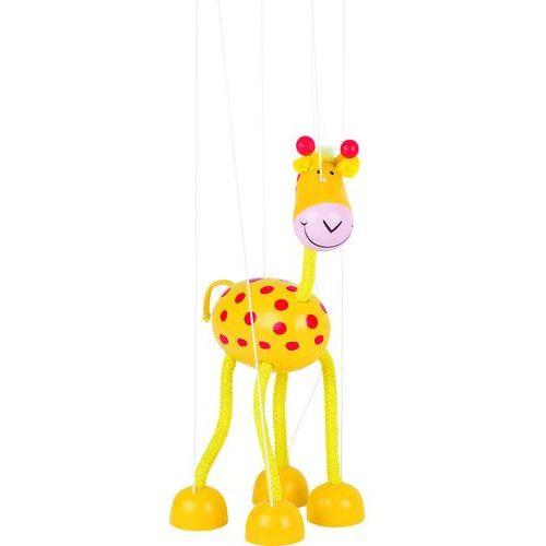 Drewniana marionetka postać Żyrafa, 1_613864