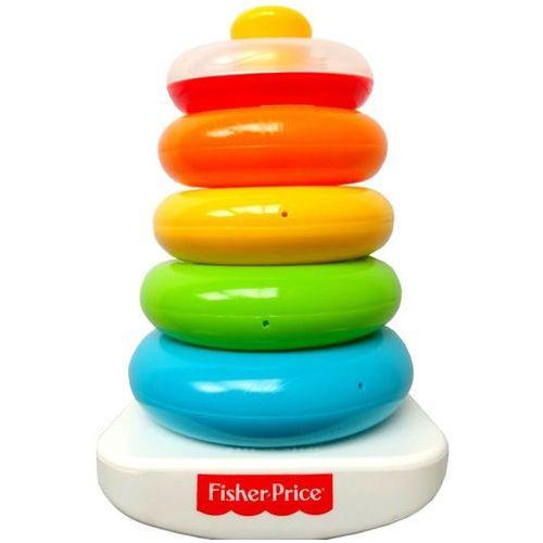 Mattel Fisher piramida z kółek (0075380010505)
