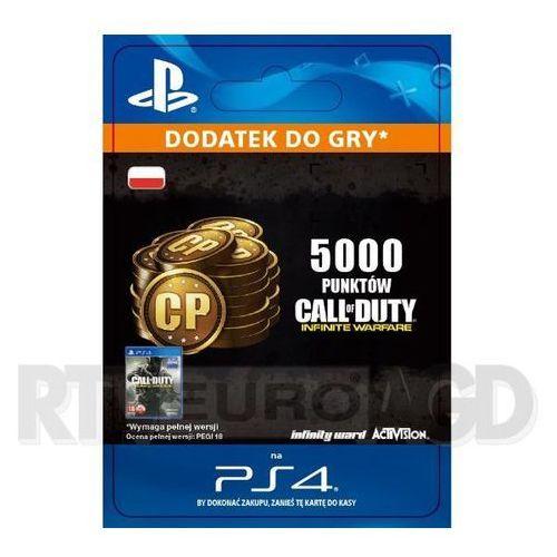 Sony Call of duty: infinite warfare - 5000 punktów [kod aktywacyjny] (0000006200222)
