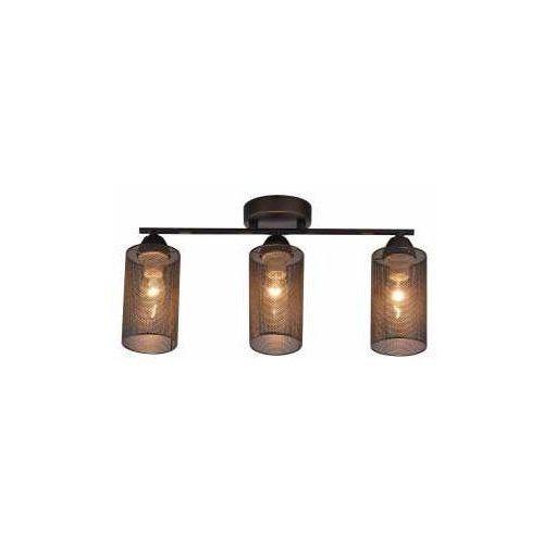 CANDELLUX INDIRA 33-58621 Lampa sufitowa 3x40W E14 czarny, 33-58621