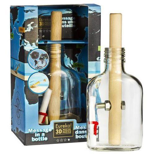 Łamigłówka w butelce (list w butelce) - poziom 3/4 marki Eureka