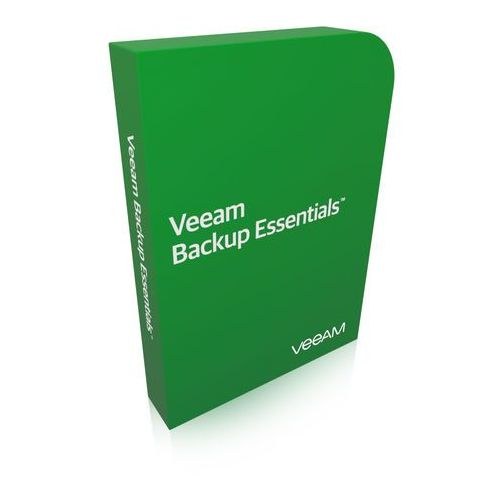1st Year Payment for Veeam Backup Essentials - Standard - 3 Years Subscription Annual Billing & Production (24/7) Support (V-ESSSTD-0I-SA3P1-00)