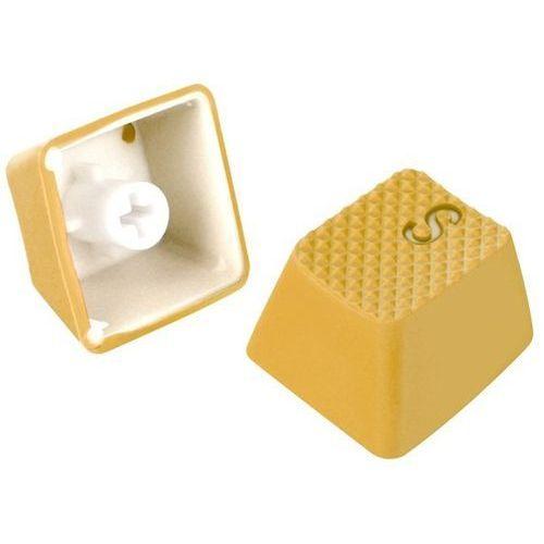 Sharkoon Klawisze  shark mechanical rubber yellow 4044951019847 - odbiór w 2000 punktach - salony, paczkomaty, stacje orlen (4044951019847)