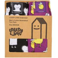 - bokserki (2-pack), Lousy livin