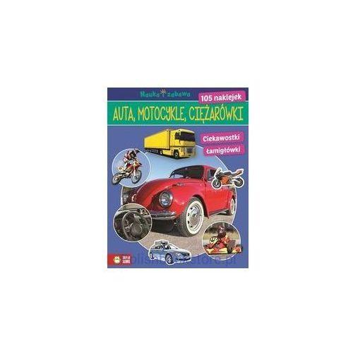 Book house Auta ciężarówki motocykle nauka i zabawa [praca zbiorowa] (9788379831593)