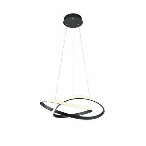 Trio RL Course R32051132 lampa wisząca zwis 1x27W LED czarna/biała (4017807472202)