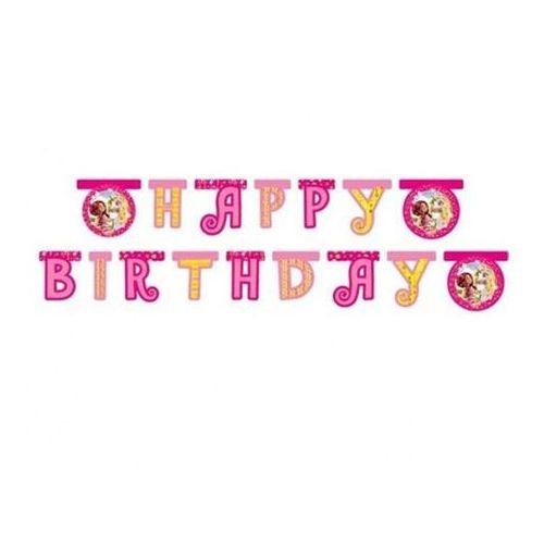 Baner urodzinowy Happy Birthday Mia i Ja - 180 x 15,5 cm - 1 szt.