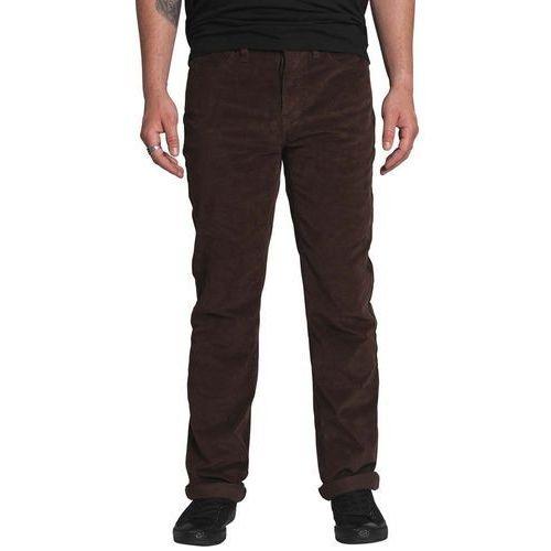 Spodnie - k slim 5 pocket dark chocolate (sol) rozmiar: 30 marki Krew