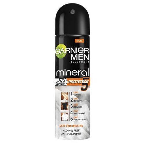 Men Mineral Protection 5 antyperspirant w sprayu 150ml - Garnier