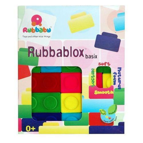 Kolorowy zestaw klocków Rubbabu