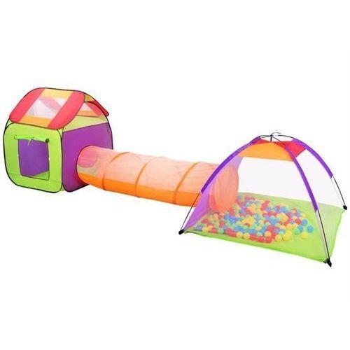 Namiot dla dzieci domek + tunel + 200szt piłek marki Iso trade