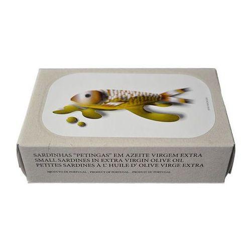 """Jose gourmet Portugalskie mini sardynki """"petingas"""" w oliwie z oliwek extra virgin 125g"""