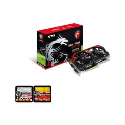 MSI GeForce GTX 750Ti GAMING 2G (N750Ti TF 2GD5/OC)
