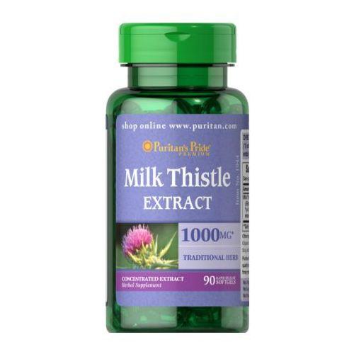 Kapsułki Puritan's Pride Ostropest Plamisty (Milk Thistle Extract) 1000 mg 90 kaps.