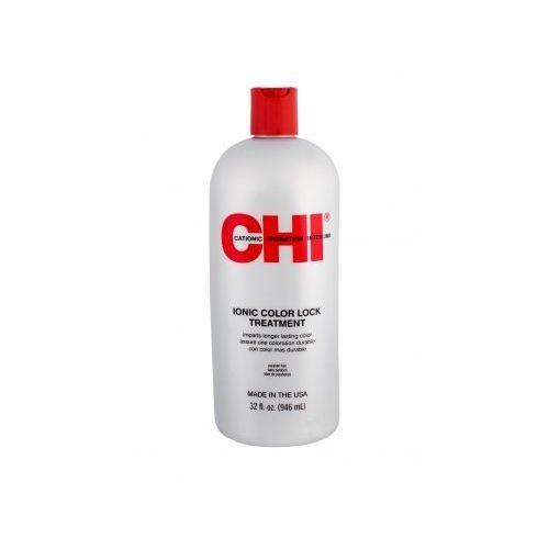 Farouk systems chi ionic color lock treatment olejek i serum do włosów 946 ml dla kobiet