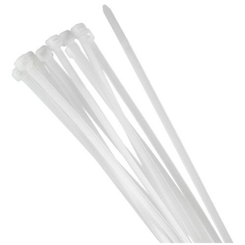 Tretytka Opaska zaciskowa 550 x 7,6 mm / trytytka biała (5908266318530)