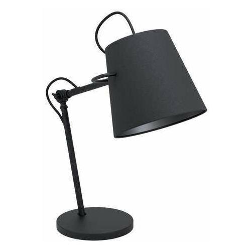 Eglo granadillos 39866 lampa stołowa lampka 1x40w e27 czarna