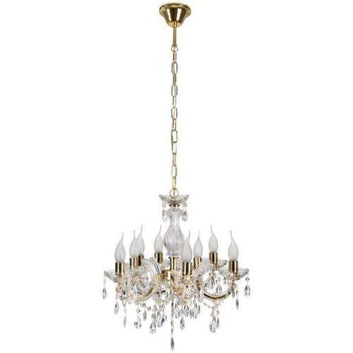 LAMPA wisząca maria teresa 38-94653 Candellux klasyczna OPRAWA świecznikowa pałacowy ŻYRANDOL złoty