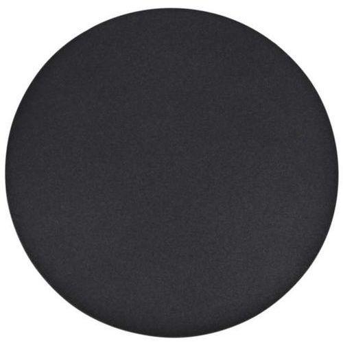 Kinkiet lampa okrągła rega k-4680 ścienna oprawa metalowa przyścienna czarna marki Mlamp