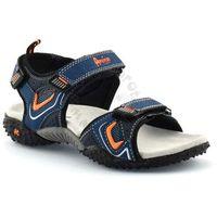 Sandały dla dzieci American Club SC1617-4 - Granatowy, kolor Granatowy