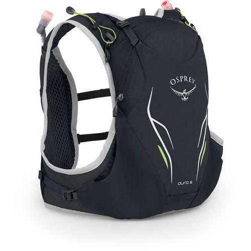 duro 6 plecak z systemem nawadniającym mężczyźni, alpine black m/l 2020 plecaki biegowe marki Osprey