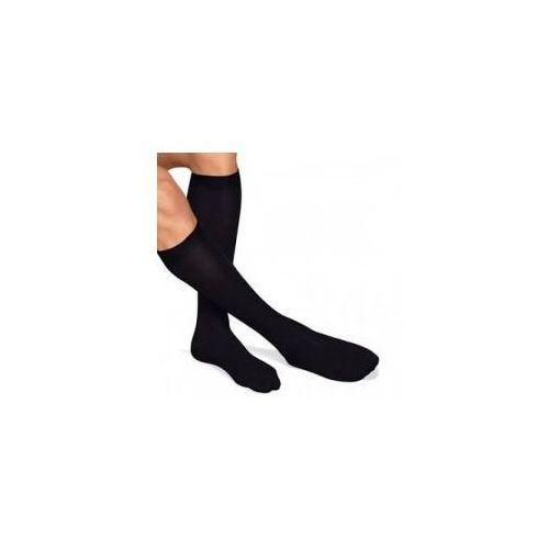 Podkolanówki męskie przeciwżylakowe z bawełną (52%) i klasy kompresji, ucisk 18-21mmhg - antistress marki Antistress (włochy)