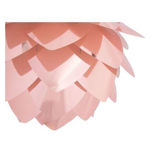 Lampa sufitowa z oprawą - miedziana - andelle mini marki Beliani