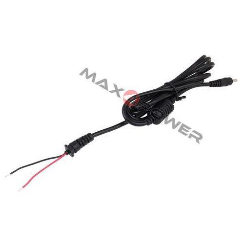 Max4power Kabel prądu stałego dc zasilacza do laptopa wtyk 3.0x1.1mm 1.1m asus/samsung