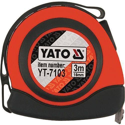 Miara zwijana 3 m x 16 mm yt-7103 - zyskaj rabat 30 zł marki Yato