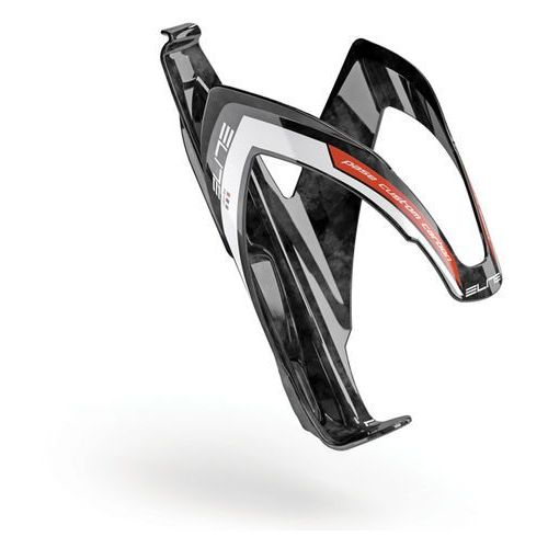pase custom carbon - koszyk na bidon (czarno-czerwony) marki Elite
