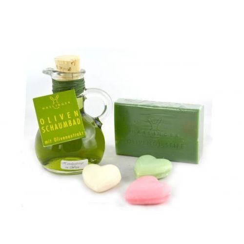 Haslinger, wiedeń Zestaw zielony haslinger - oliwka z sercem