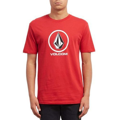 koszulka VOLCOM - Crisp Stone Bsc Ss Engine Red (ENR) rozmiar: L, 1 rozmiar