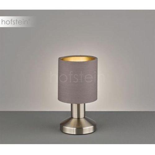 garda lampa stołowa nikiel matowy, 1-punktowy - dworek/vintage - obszar wewnętrzny - garda - czas dostawy: od 3-6 dni roboczych marki Trio