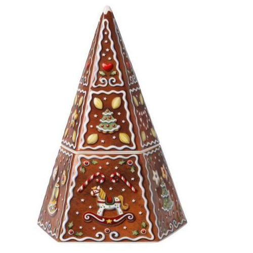 Villeroy & Boch - Winter Bakery Decoration Pudełko na ciastka choinka z piernika wysokość: 23,5 cm