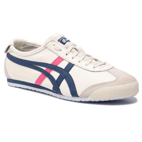 Sneakersy - onitsuka tiger mexico 66 1182a078 cream/midnight blue marki Asics