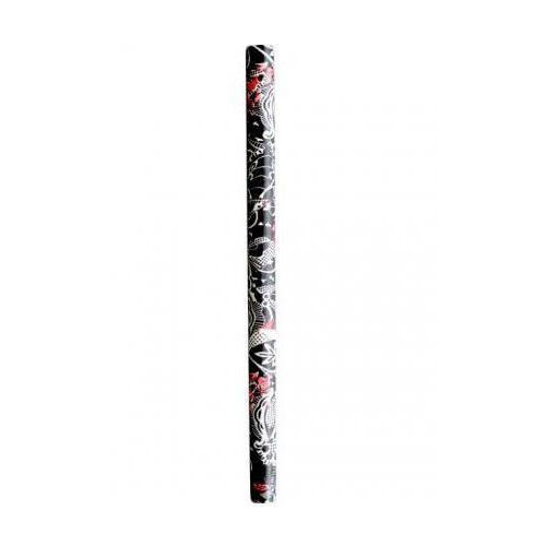 Rurki florystyczne czarne, papierowe 25 szt.   TOMGAST, FF-25FK