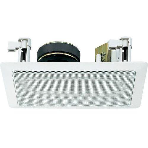 Głośnik sufitowy PA do zabudowy Monacor ESP-15/WS, Moc RMS: 1 W, 60 - 20 000 Hz, 100 V, Kolor: biały, 1 szt.
