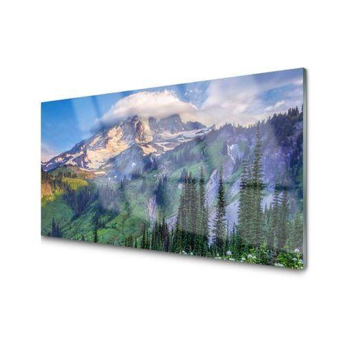 Obraz szklany góra las krajobraz przyroda marki Tulup.pl