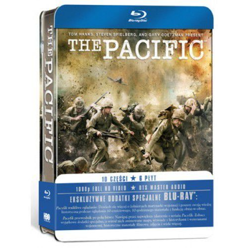 Galapagos films / hbo Pacyfik (6bd) metalbox
