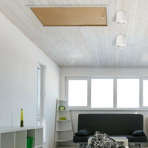 Rabalux Plafon lampa sufitowa spot donald 1x60w e27 biały 2484 (5998250324845)