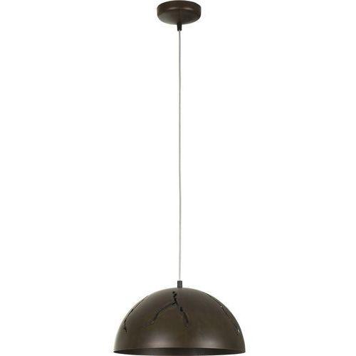 Nowodvorski Lampa wisząca hemisphere 6370 cracks s zwis oprawa żyrandol 1x100w e27 rdzawy (5903139637091)