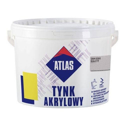 Tynk akrylowy Atlas SAH 0391 kalcyt 25 kg, W-TC052-H0391-AT8Y