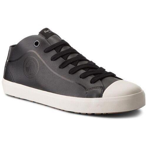 Półbuty PEPE JEANS - Industry Pro B&W PMS30428 Black 999, kolor czarny