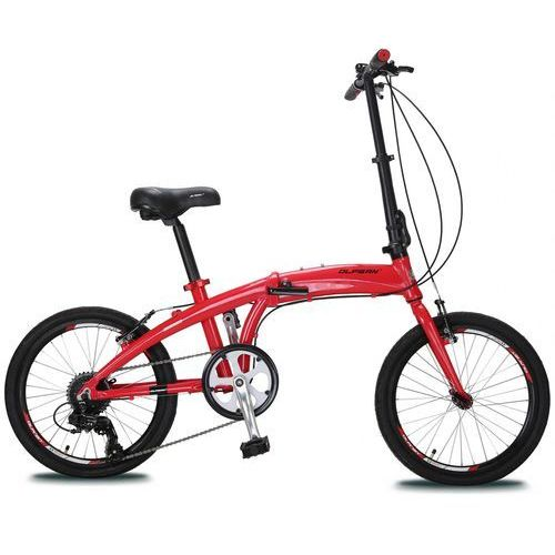 "składany rower 20"" red/black marki Olpran"