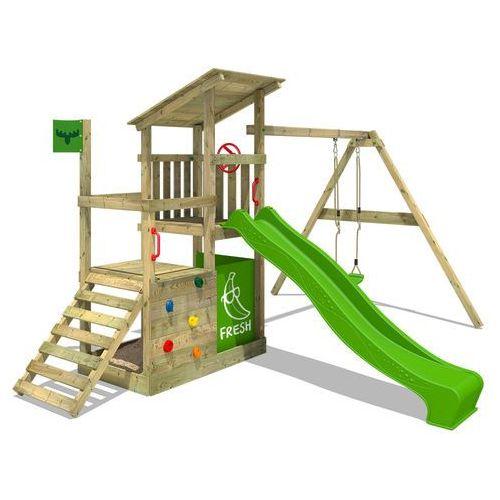 Plac zabaw FruityForest Fun XXL, plac zabaw z huśtawką i zjeżdżalnią (4250533952130). Najniższe ceny, najlepsze promocje w sklepach, opinie.