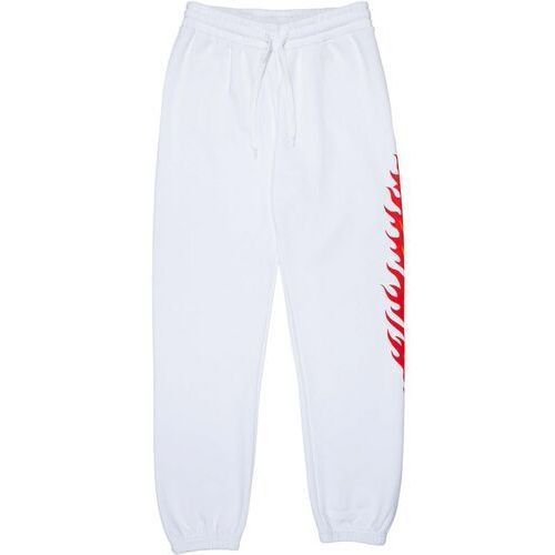 spodnie dresowe SANTA CRUZ - Flame Dot Sweatpant White (WHITE)