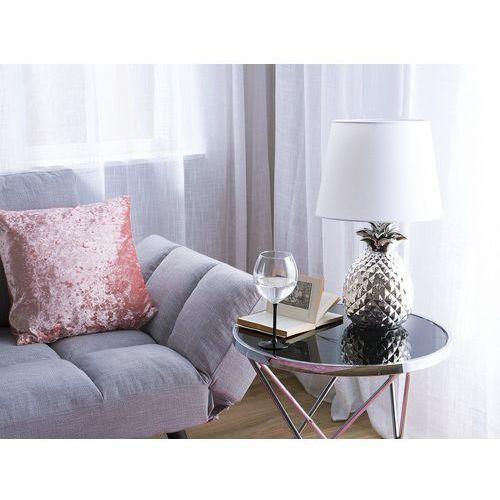 Lampa stołowa srebrna 52 cm PINEAPPLE (4260624111391)
