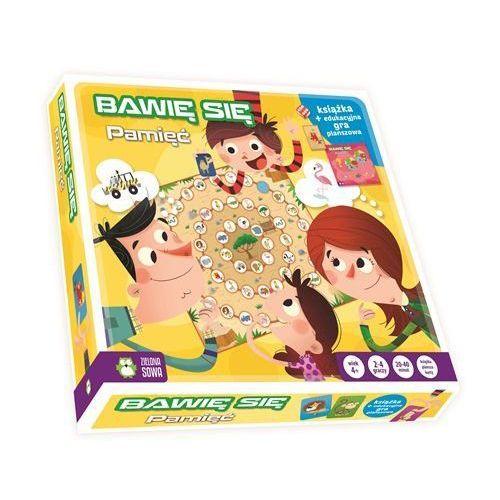 Zielona sowa Książka z grą. bawię się w pamięć