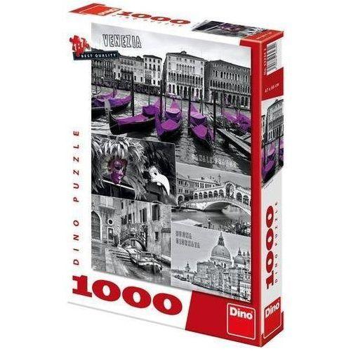 Puzzle 1000 wenecja kolaż dino marki Dino toys